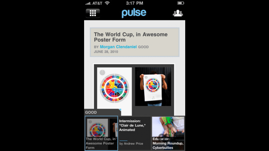 Pulse News Mini for Mac - review, screenshots