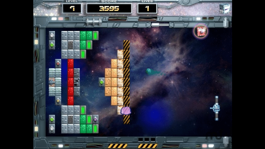 Arkanoid: Space Ball for Mac - review, screenshots