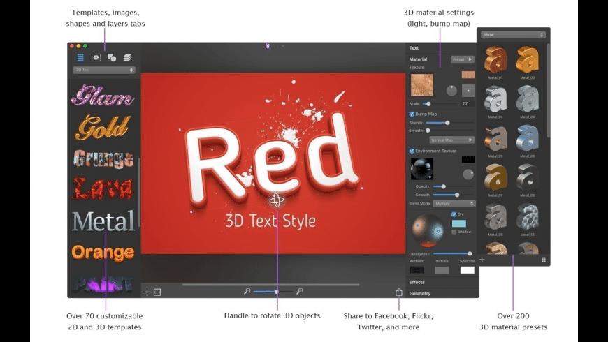 Art Text for Mac - review, screenshots