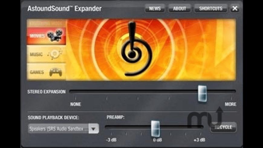 AstoundSound Expander for Mac - review, screenshots