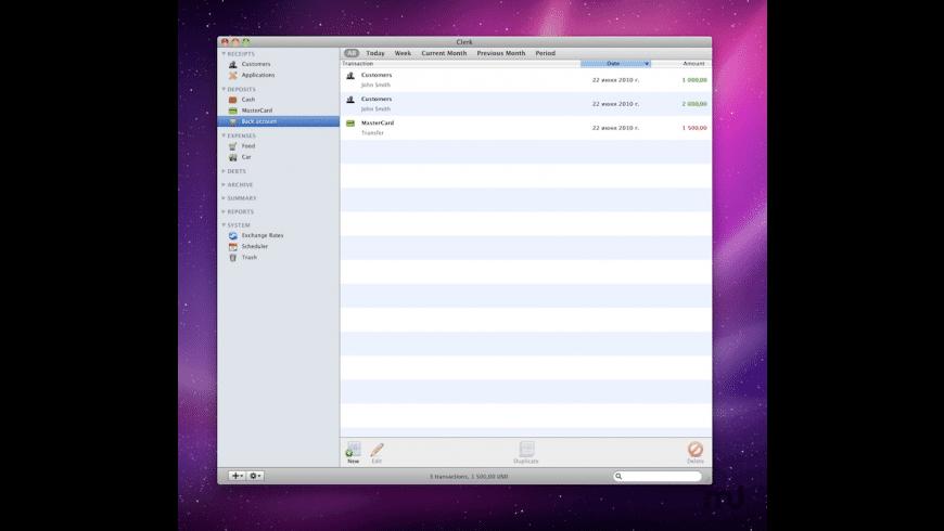 Clerk for Mac - review, screenshots