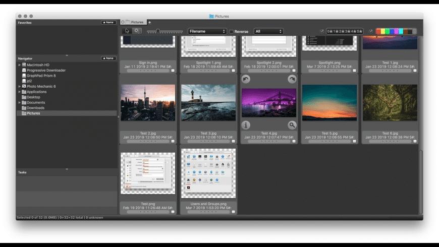 Photo Mechanic for Mac - review, screenshots
