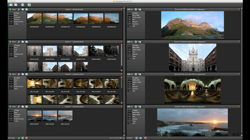 Autopano Giga for Mac - review, screenshots