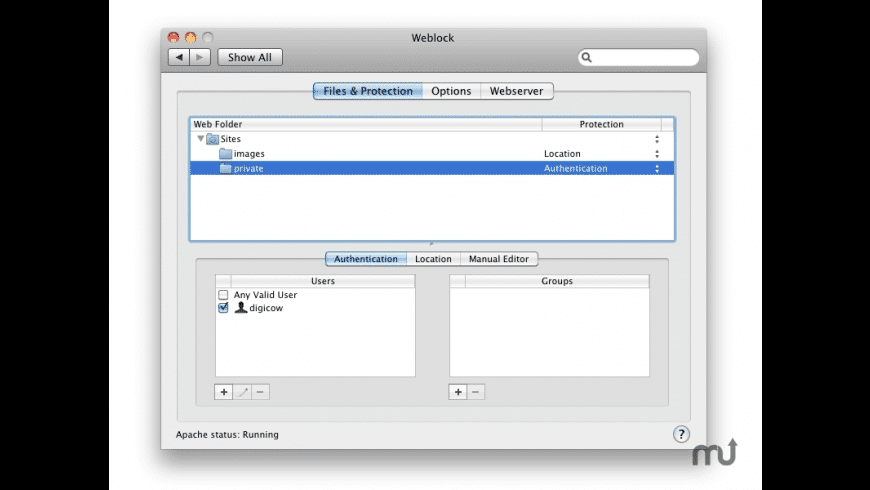 Weblock for Mac - review, screenshots