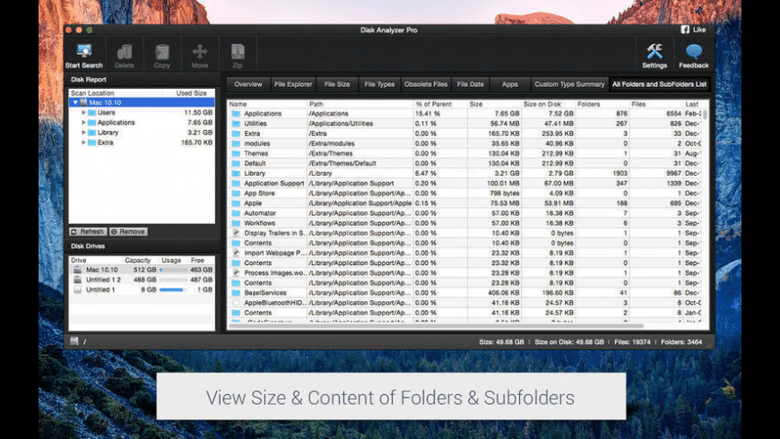 Disk Analyzer Pro for Mac - review, screenshots