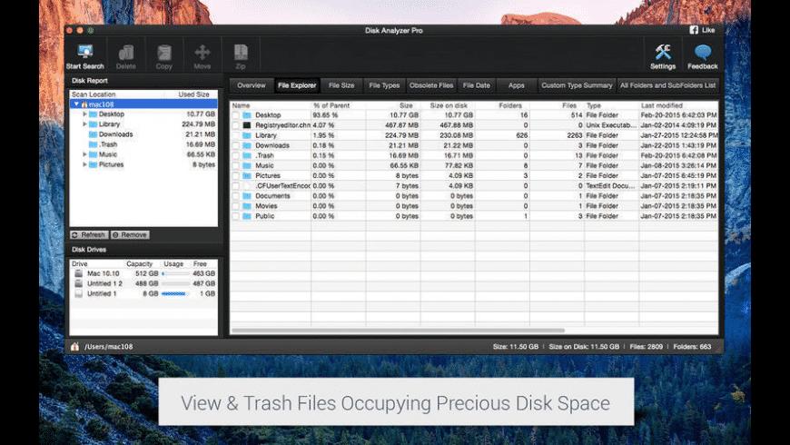 Disk Analyzer Pro for Mac - review, screenshots