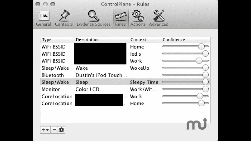 ControlPlane for Mac - review, screenshots