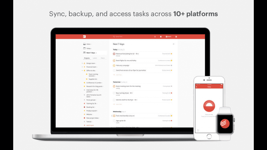 Todoist for Mac - review, screenshots
