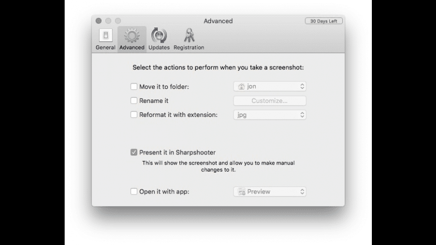 Sharpshooter for Mac - review, screenshots