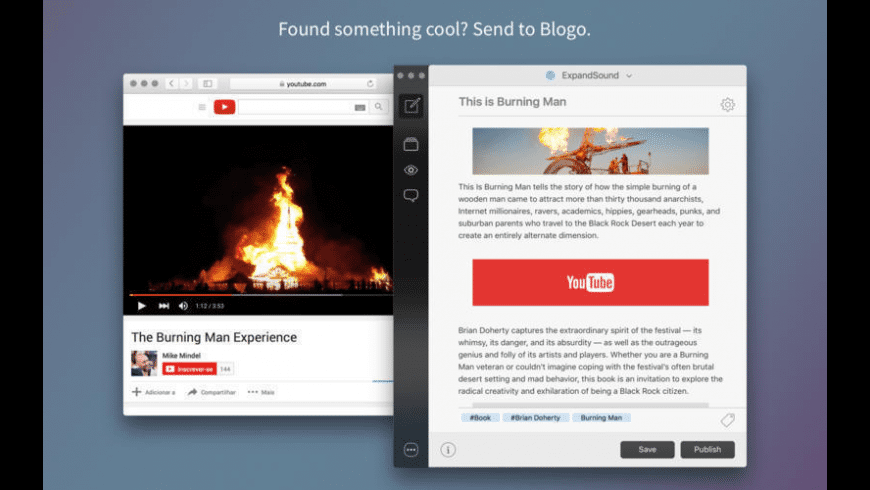 Blogo for Mac - review, screenshots