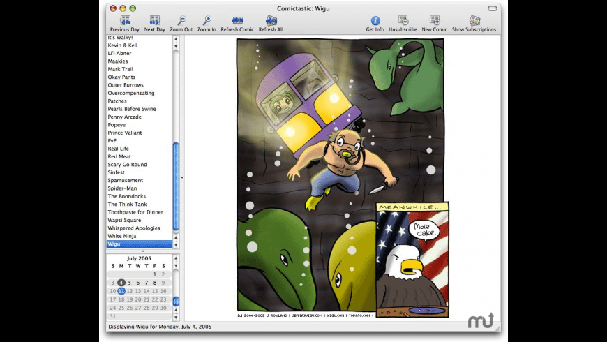 Comictastic for Mac - review, screenshots