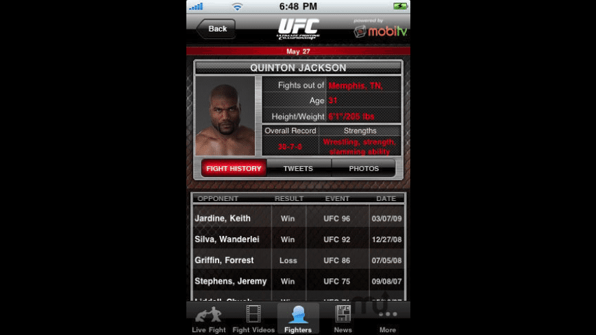 Ultimate Fighting Championship for Mac - review, screenshots