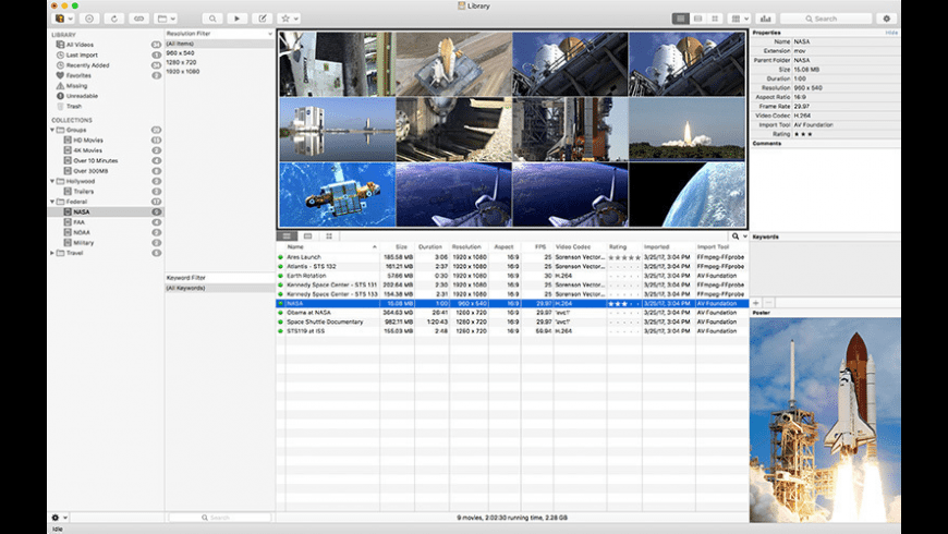 Cinematica for Mac - review, screenshots