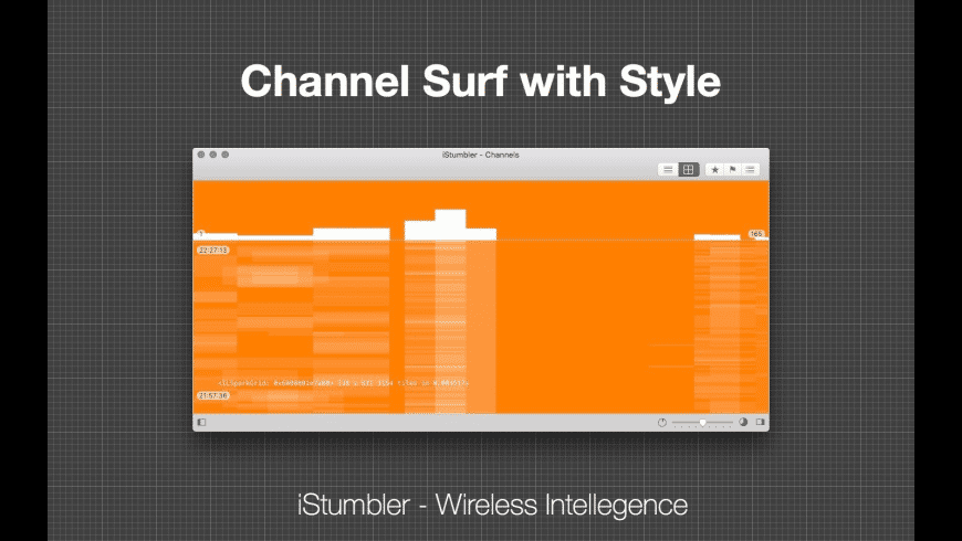 iStumbler for Mac - review, screenshots