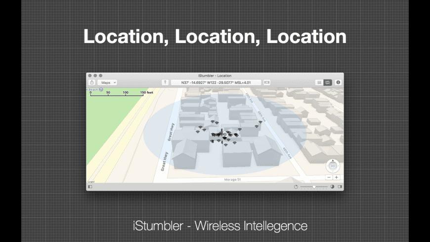 iStumbler for Mac - review, screenshots