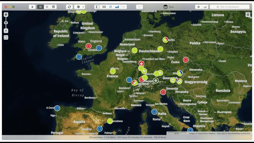 rubiTrack for Mac - review, screenshots