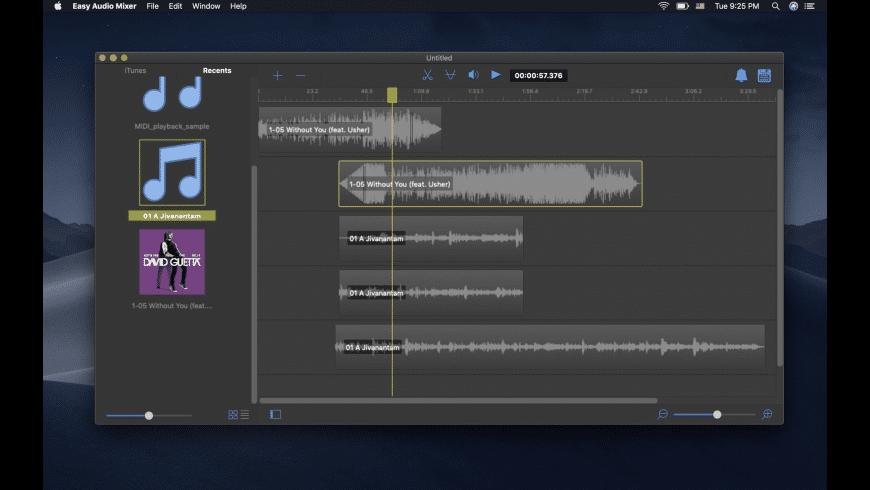 Easy Audio Mixer for Mac - review, screenshots