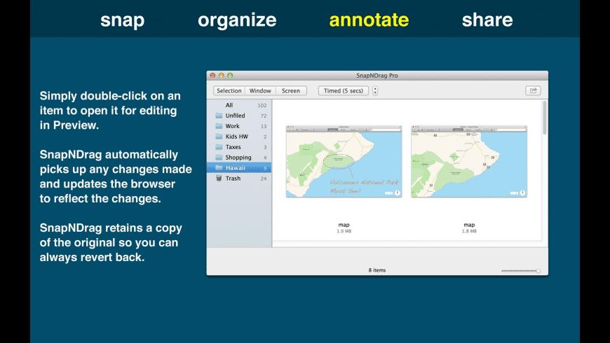 SnapNDrag Pro for Mac - review, screenshots