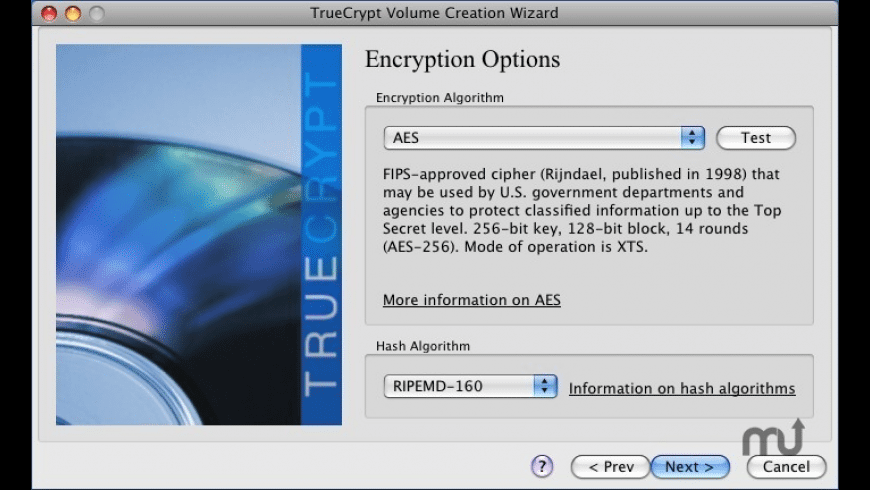 TrueCrypt for Mac - review, screenshots
