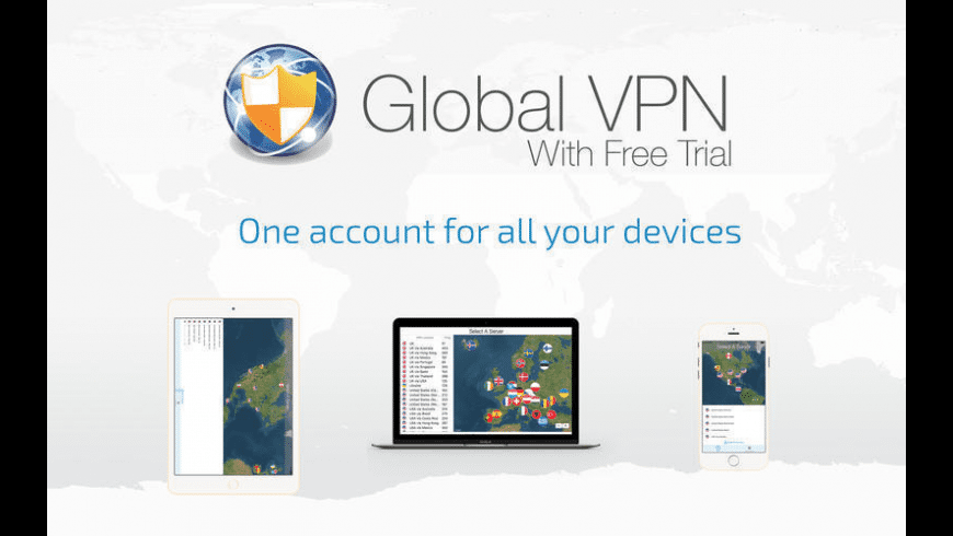Global VPN for Mac - review, screenshots
