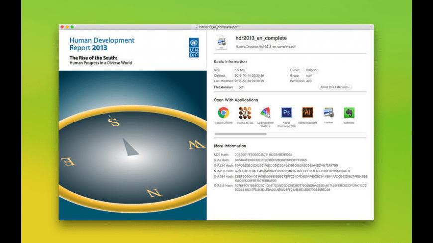 File Opener for Mac - review, screenshots