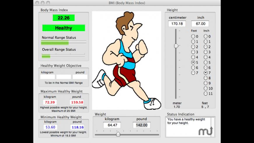 BMI for Mac - review, screenshots
