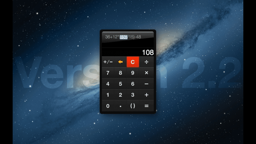 Handy Calculator for Mac - review, screenshots