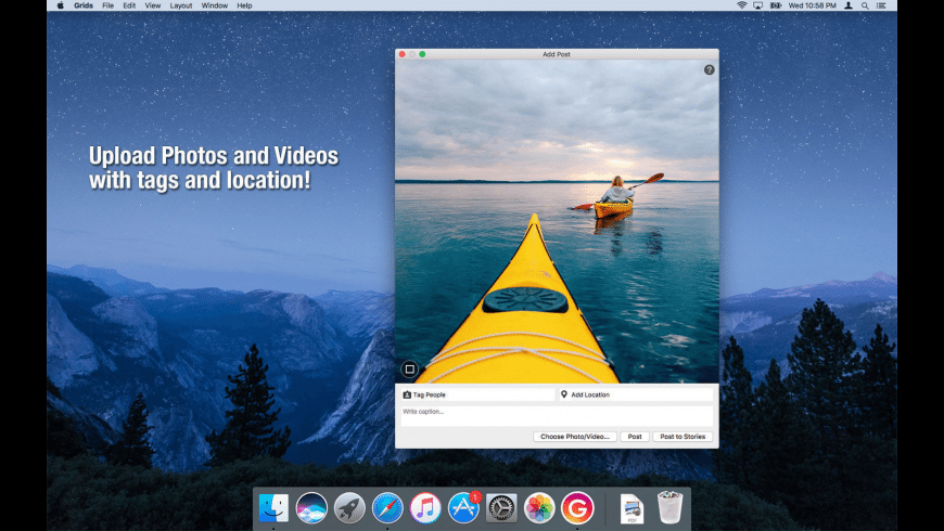 Grids for Instagram 6.1.6 Mac 破解版 优秀的Instagram客户端