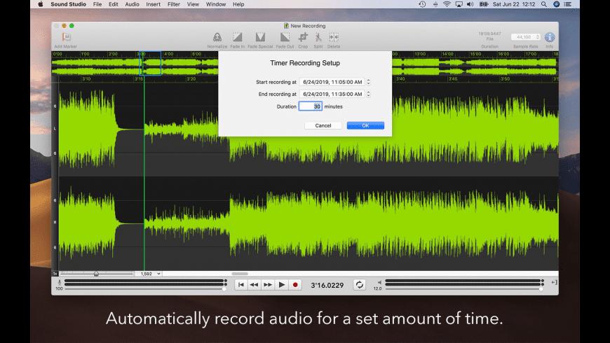 Sound Studio for Mac - review, screenshots