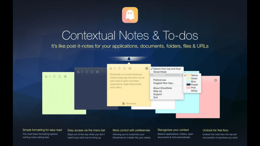 GhostNote for Mac - review, screenshots