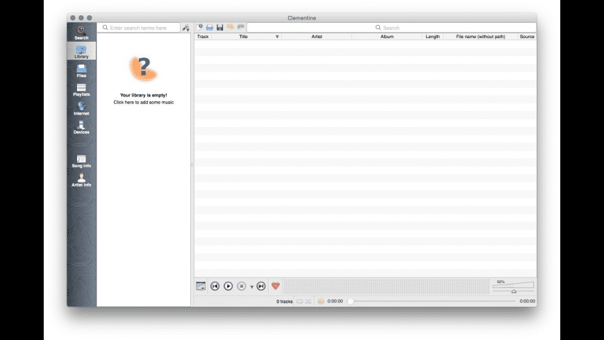 Clementine for Mac - review, screenshots