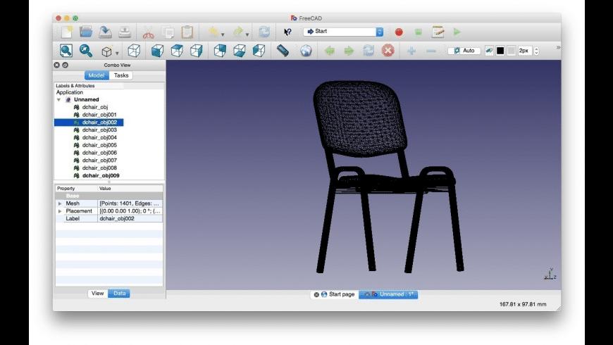 FreeCAD for Mac - review, screenshots