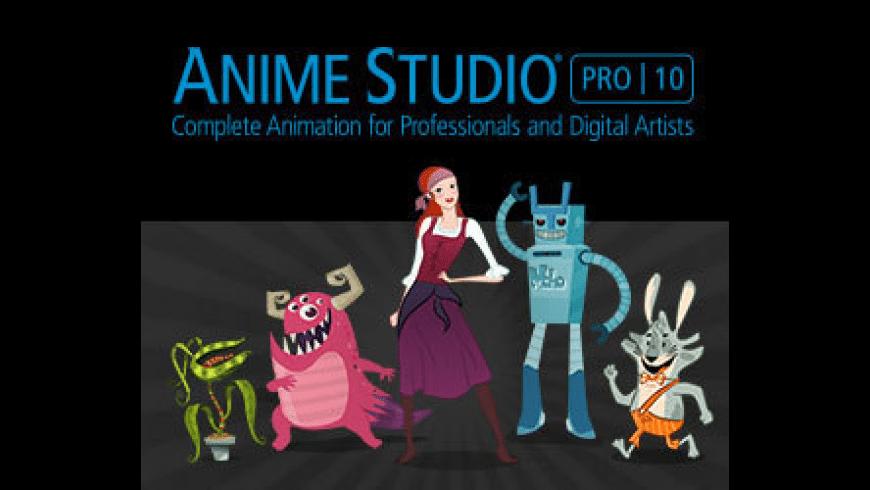 Anime Studio Pro for Mac - review, screenshots