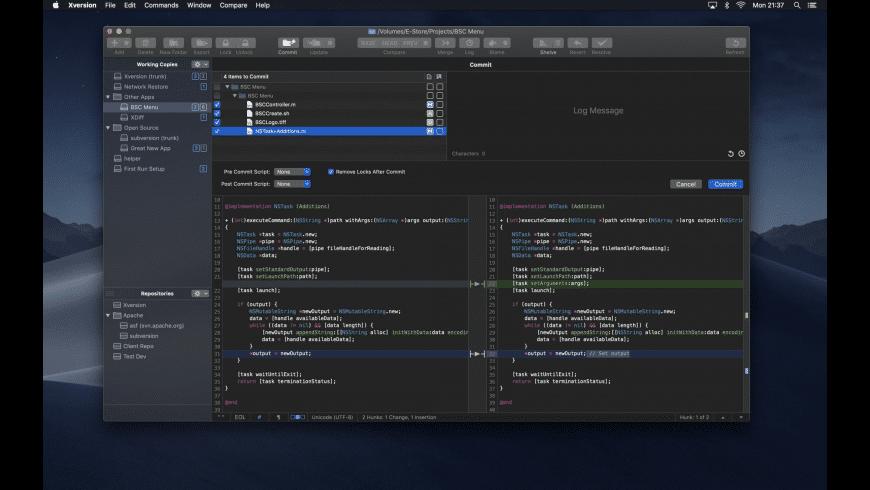 Xversion for Mac - review, screenshots