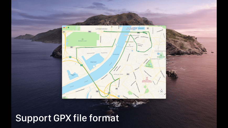 GPX Reader for Mac - review, screenshots