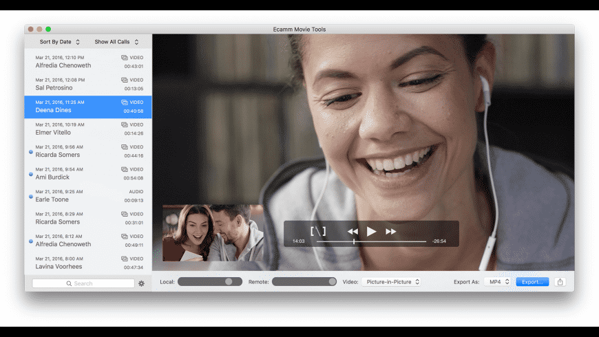 Call Recorder for Skype for Mac - review, screenshots