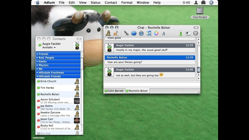 Adium for Mac - review, screenshots