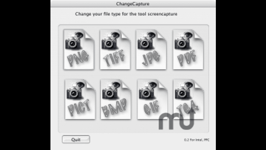 ChangeCapture for Mac - review, screenshots
