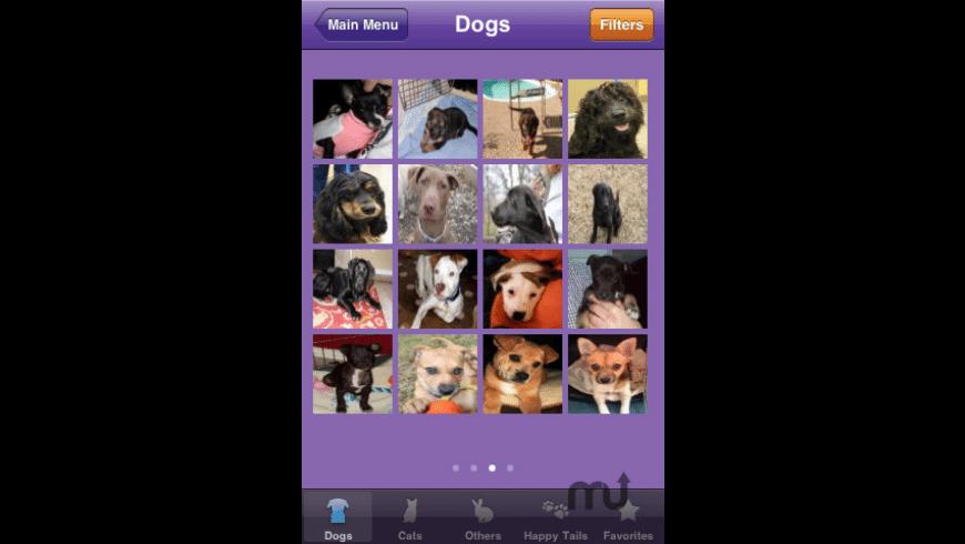 Petfinder.com Mobile Application for Mac - review, screenshots