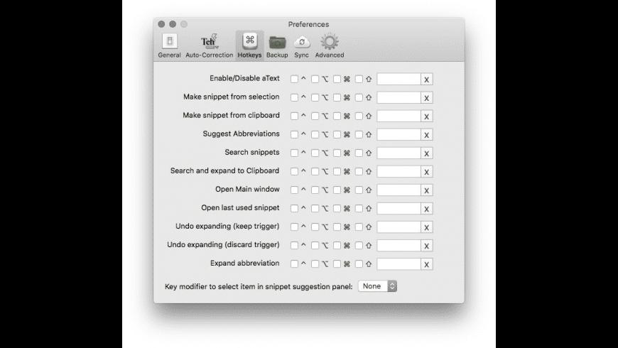 aText for Mac - review, screenshots