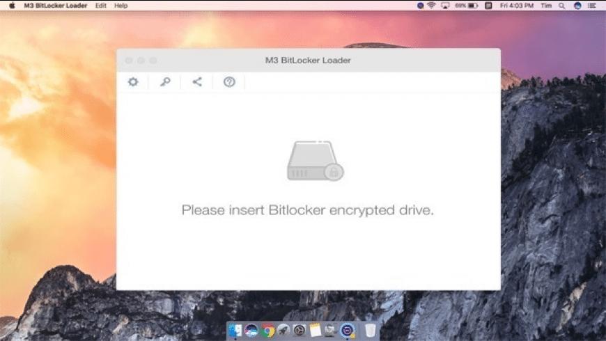 M3 Bitlocker Loader for Mac - review, screenshots