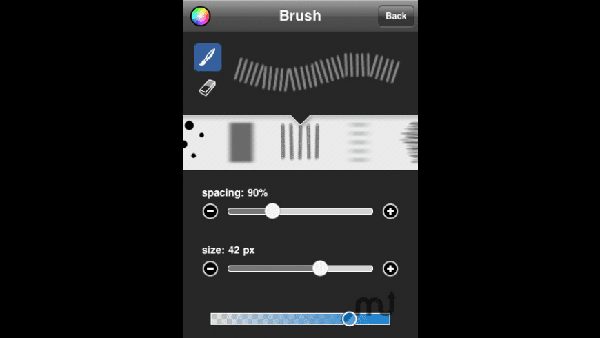 Brushes - iPhone Edition for Mac - review, screenshots