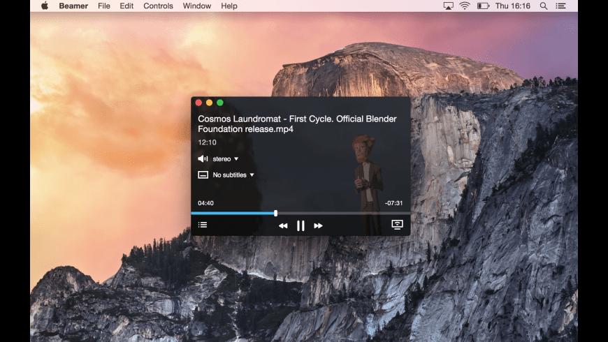 Beamer for Mac - review, screenshots