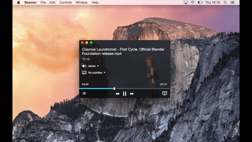 Beamer for Mac - review, screenshots