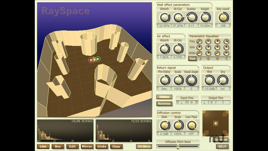 RaySpace for Mac - review, screenshots
