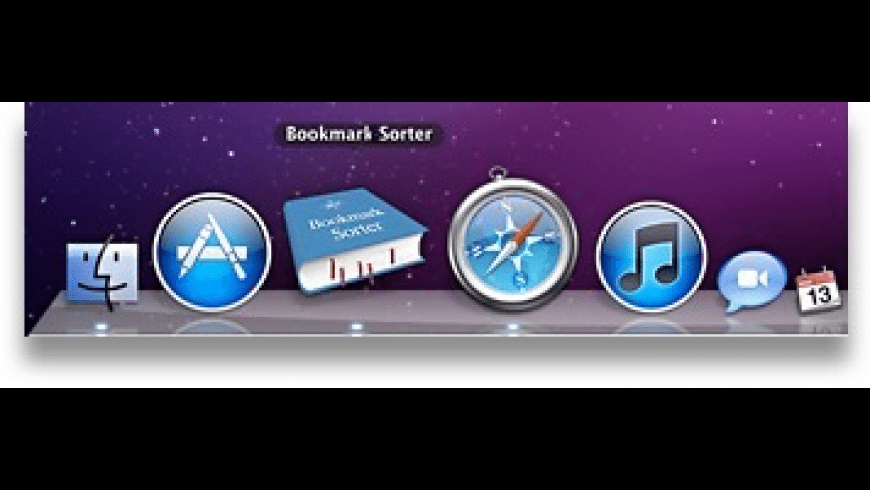 Bookmark Sorter for Mac - review, screenshots