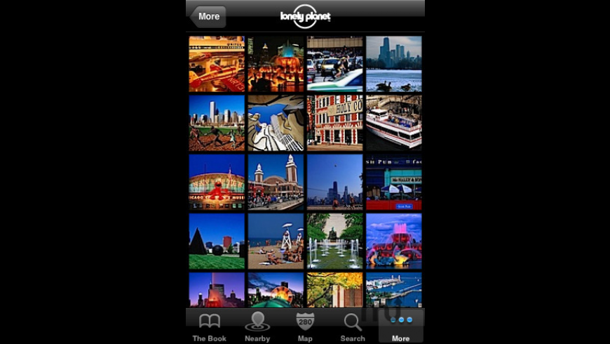 Lonely Planet Travel Guides for Mac - review, screenshots