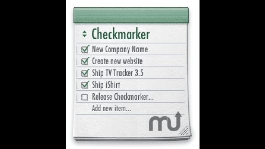 Checkmarker for Mac - review, screenshots