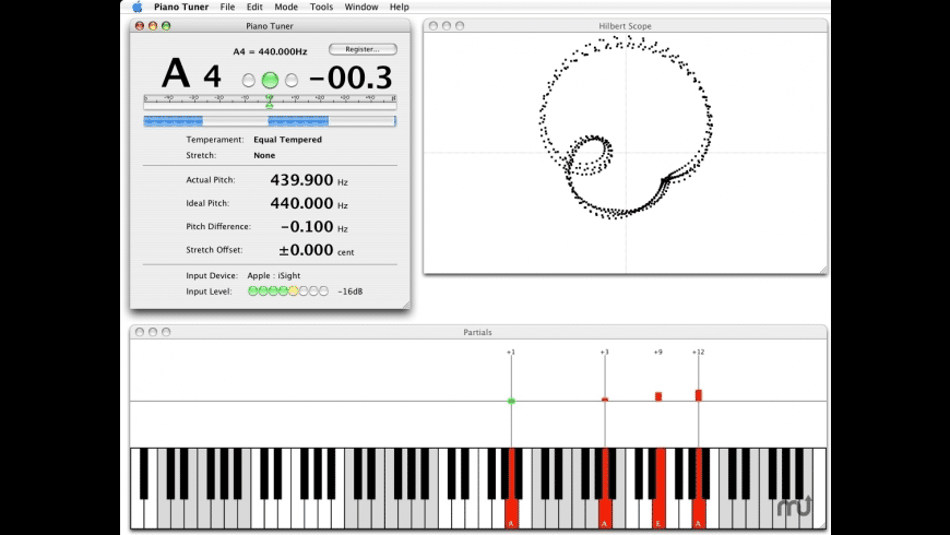 Piano Tuner for Mac - review, screenshots