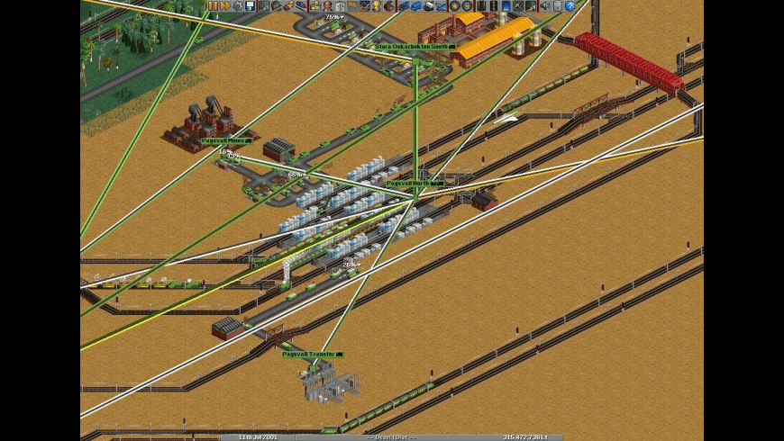 OpenTTD for Mac - review, screenshots